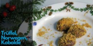 Norwegische Trüffel, Weihnachtskekse, Skandinavisch, skandinavische Weihnachtskekse, Trüffel, Nisse, Kobold, Norwegenblog, Norwegen, Kekse, backen, Rezept, Troll