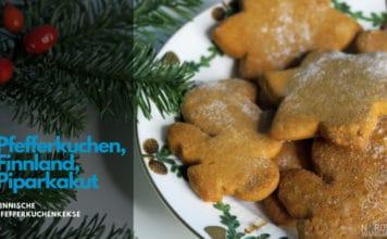 Finnische Pfefferkuchenkekse, Finnland, Finnische Kekse, Weihnachten, Finnlandblog, Pfefferkuchen, Zimt, Nelken, Ingwer, Mörser