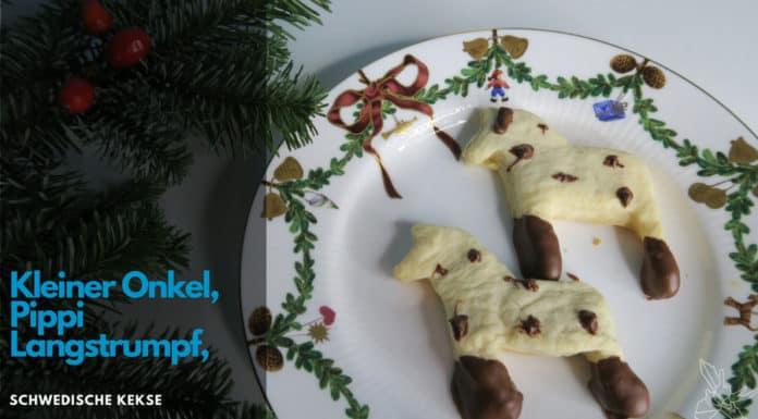 Kleiner Onkel Kekse, Pippi Langstrumpf Kekse, Schwedenblog, Rezepte, Schwedisch, Dalapferd
