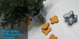 Alvar Aalto Pfefferkuchen , Alvar Aalto, iittala, Finnland, finnischen Design, Lothar John Tischkultur, Backen, Rezept, Finnish cookies, Alvar Aalto Cookies,
