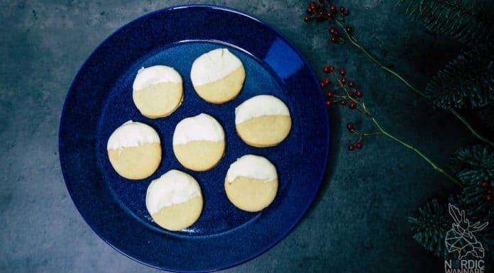 Skandinavische Kekse, Lakritzkekse, Weihnachtsrezept, Kekse aus Dänemark, Salmiak-Kekse