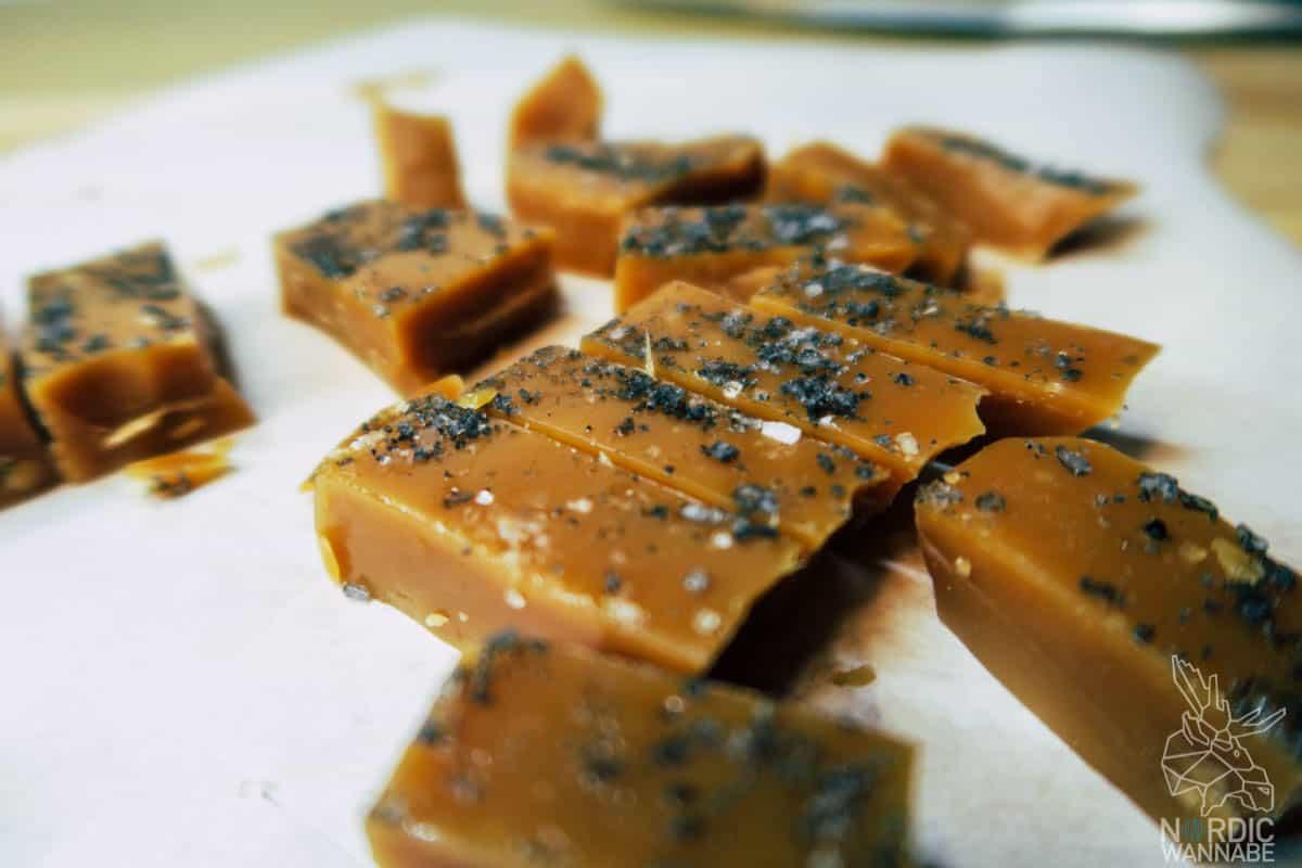 Karamellbonbons mit Salz, Skandinavien, Hygge, Valentinstag, Karamellbonbons selber machen, Rezepte
