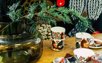 Finnische Weihnachtsdekoration von Marimekko, Marimekko Neuheiten 2019, Finnland, Finnisches design, Marimekko Shop Frankfurt