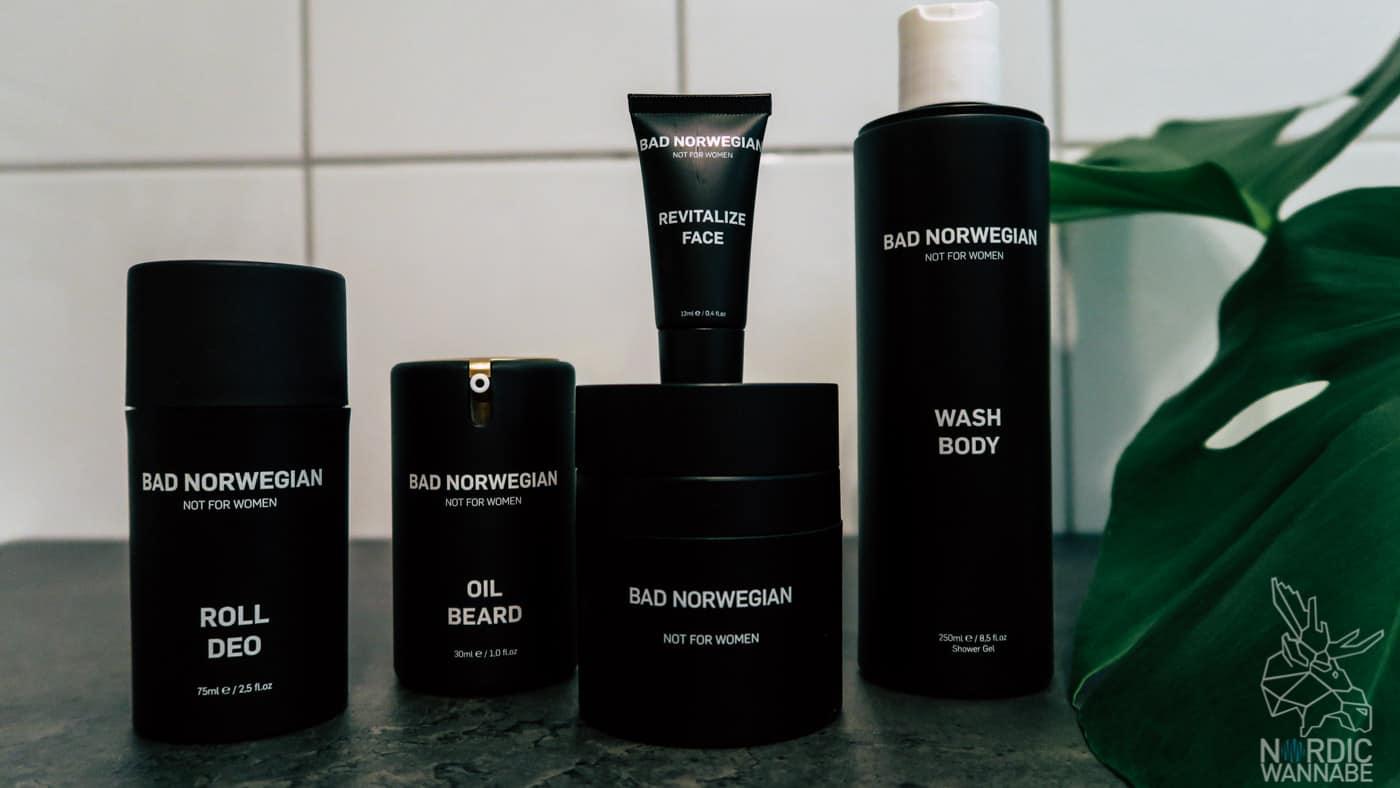 Männerpflege aus Norwegen, Herrenpflege, Bartöl, Creme, Herrenduft, Menthol, Norwegen, Skandinavische Pflege, Nordic Beauty, Bartöl,