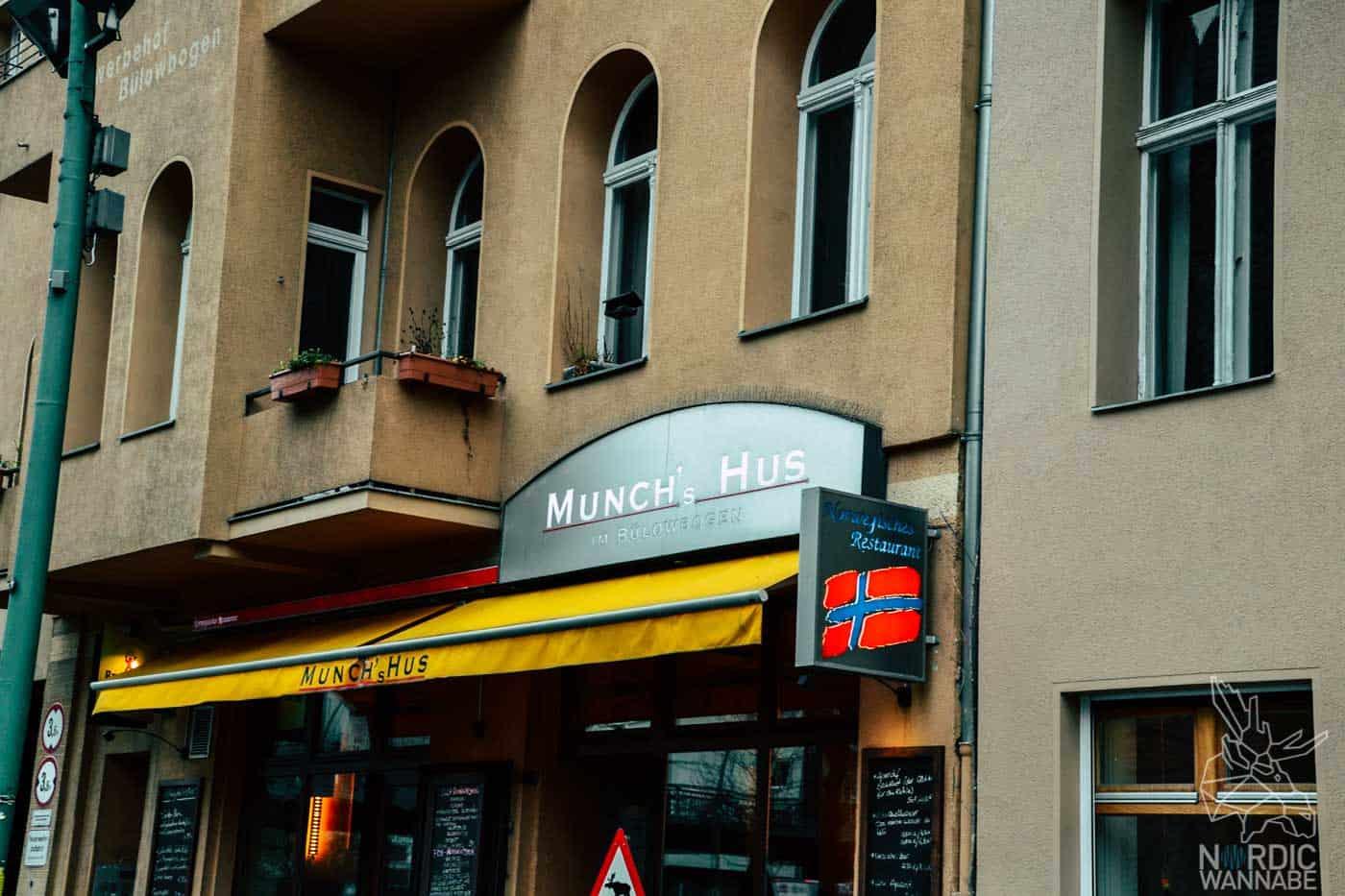 Skandinavisch essen Berlin, Skandinavisch shoppen Berlin, Skandinavien in Berlin, Munchs Hus