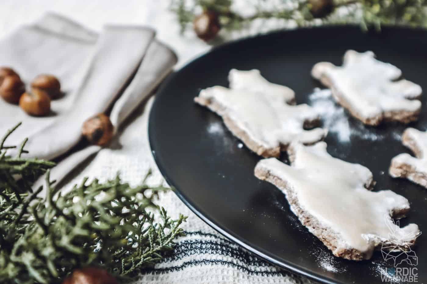 Skandinavische Weihnachtskekse