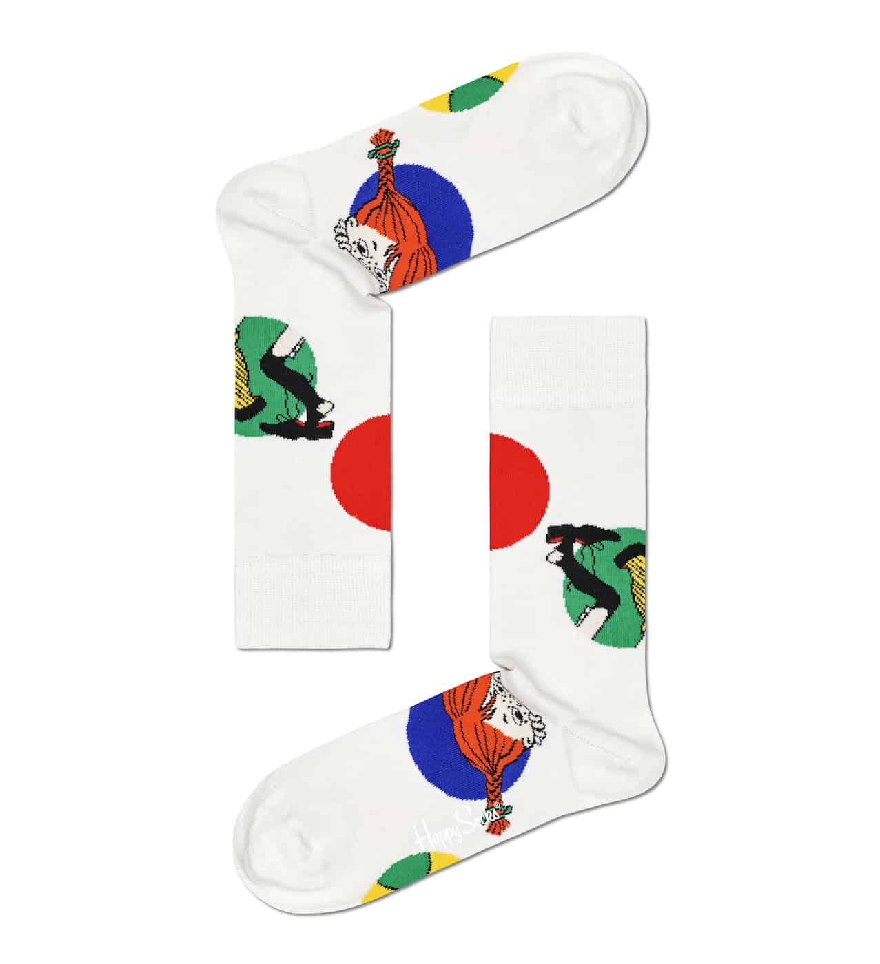 Pippi Langstrumpf, Socken, Strümpfe, Happy Socks