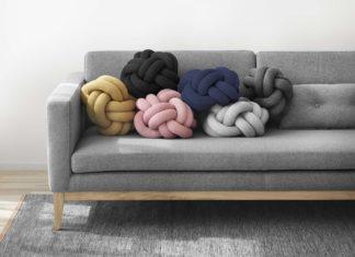 Knoten-Kissen, skandinavisch Kissen, Design House Stockholm, Knot Cushion