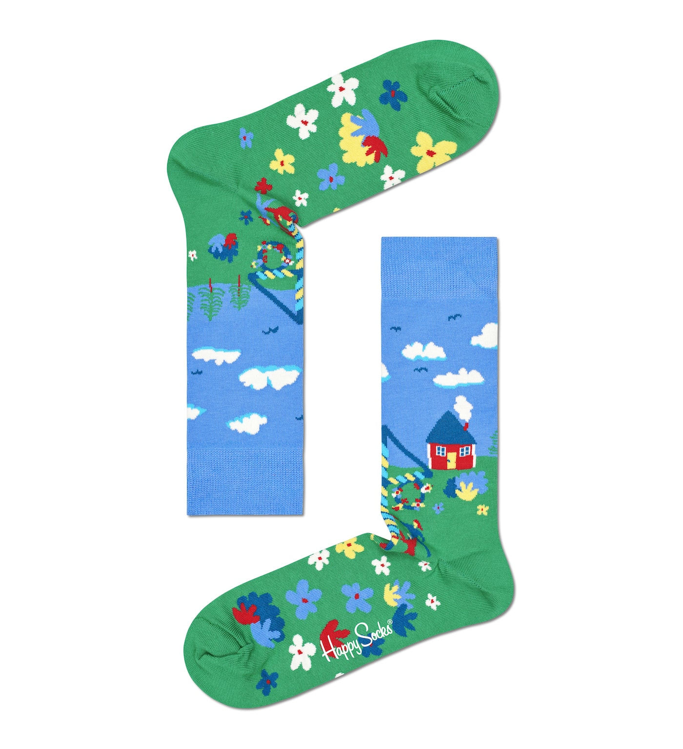 Mittsommer, Midsummer, Midsommar, Happy Socks, Schweden, Mittsommerfest