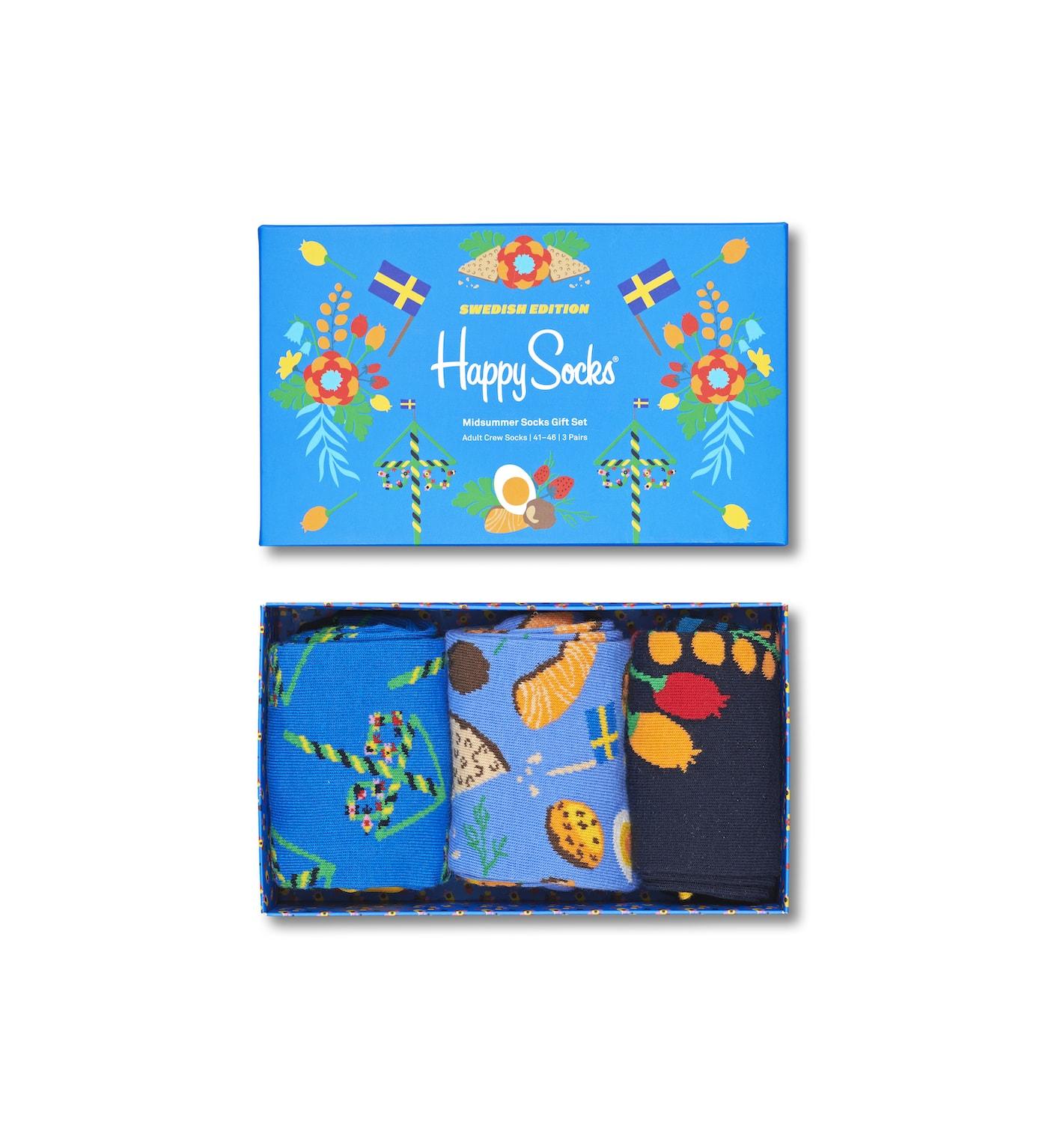Mittsommer, Midsummer, Midsommar, Happy Socks, Schweden, Mittsommer-Dekoration
