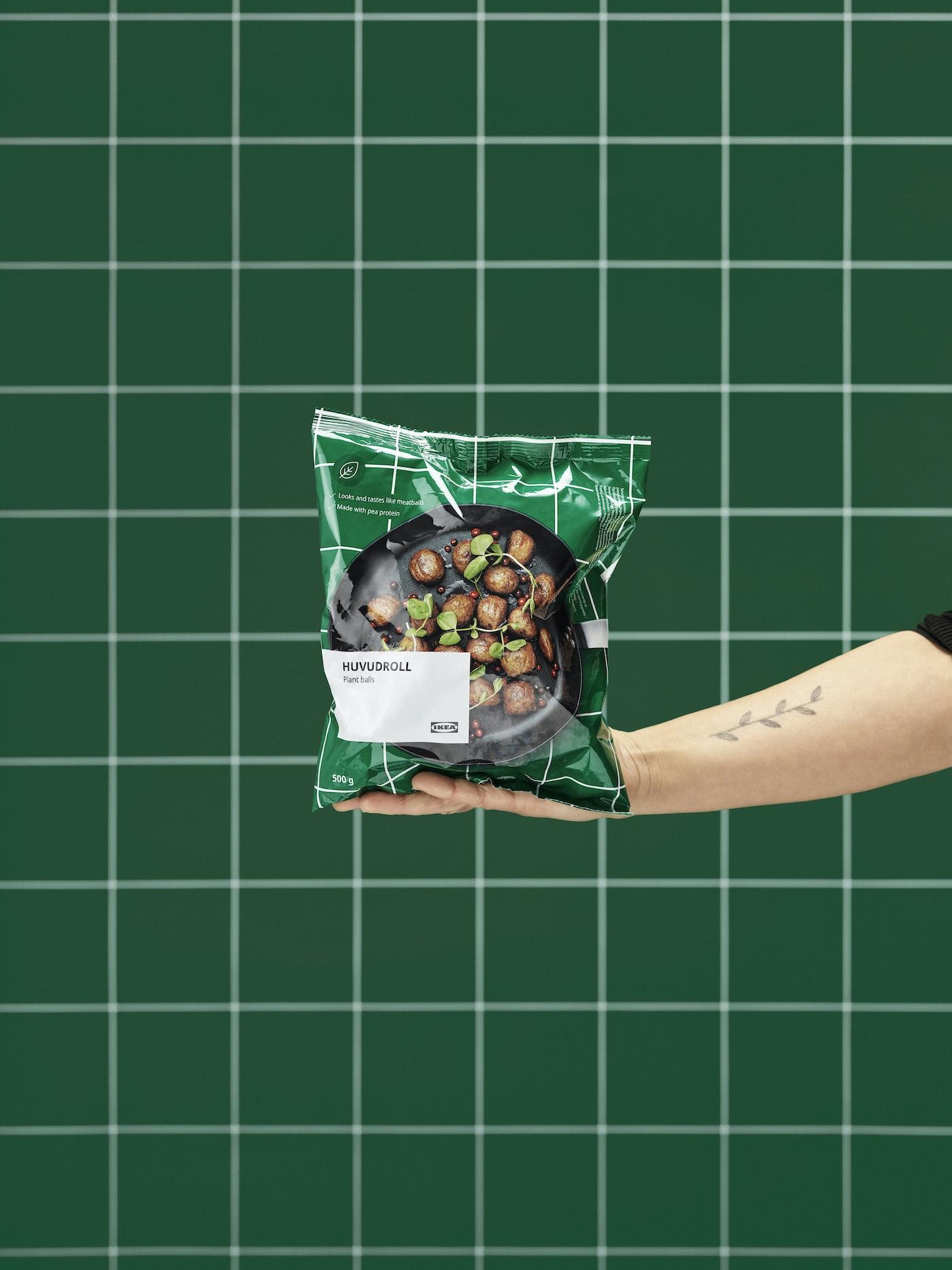 Fleischbällchen, Vegane Köttbullar, Vegetarische Köttbullar, Pflanzliche Köttbullar, IKEA, ohne Fleisch