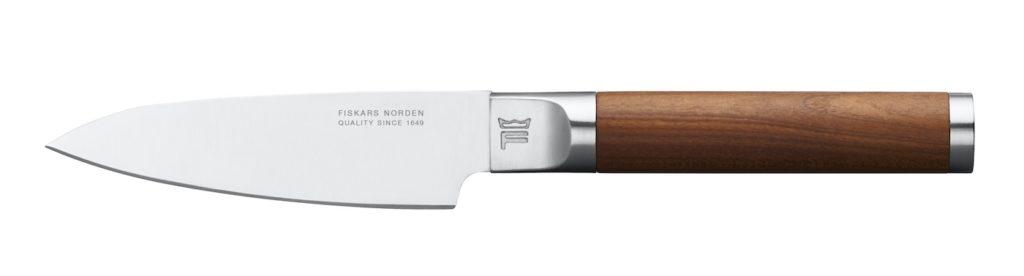 Gusseisen-Pfanne für Induktion , Fiskars, Finnland, Finnische Geschirrserie, Kochgeschirr , Messer