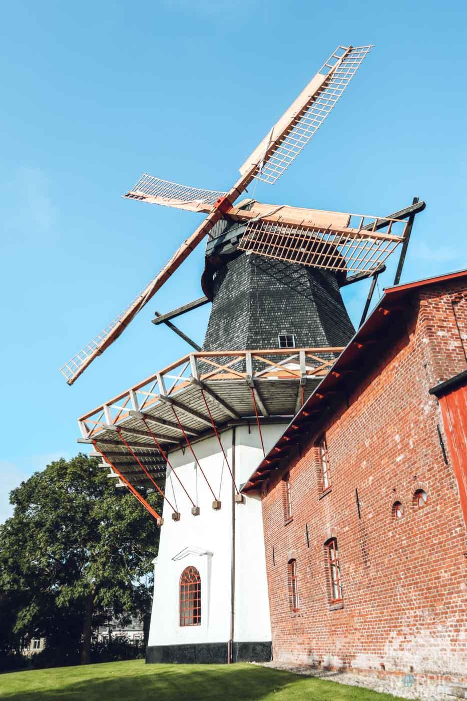 Højer Mühle, Südjütland, Dänemark, Urlaub,