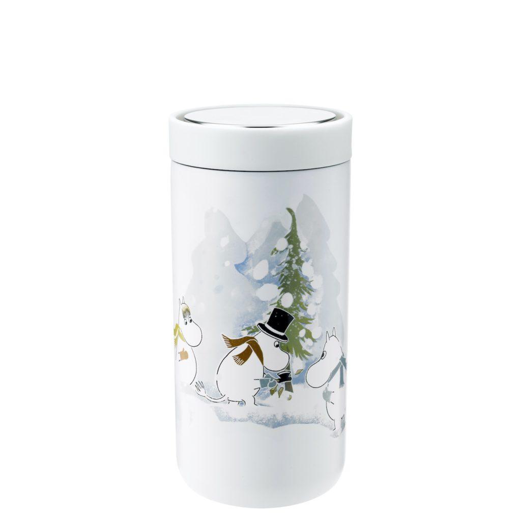 Mumins, Weihnachten, Moomin Christmas, Mumins Flasche, Mumins Finnland,
