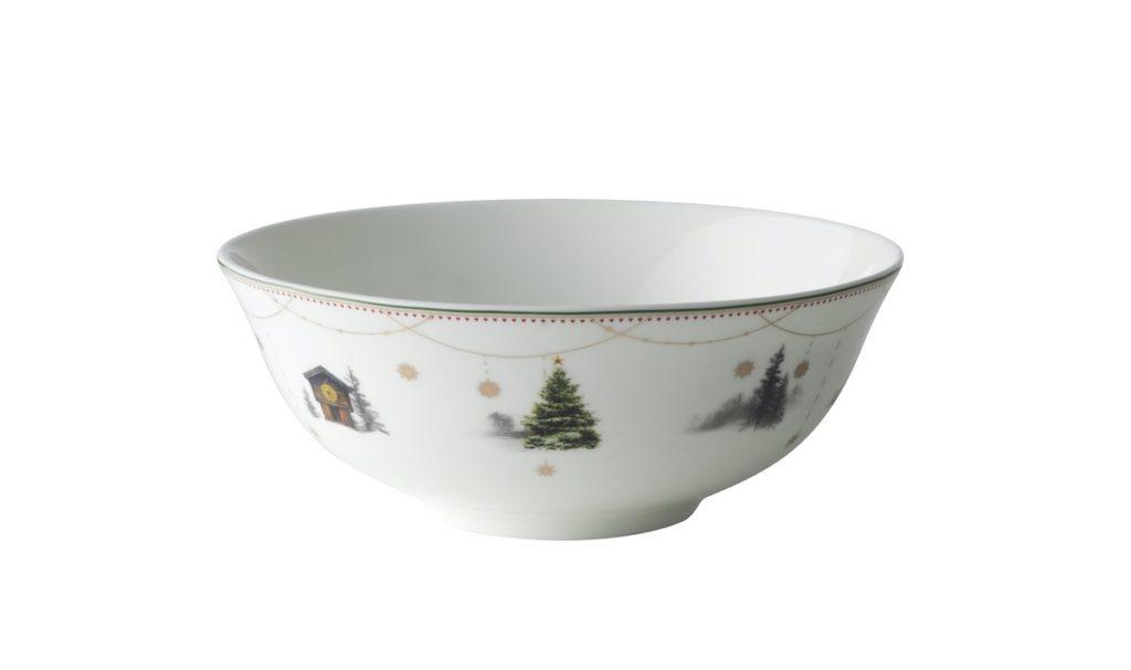 Weihnachtsservice, Wik & Walsøe, Porzellan aus Norwegen