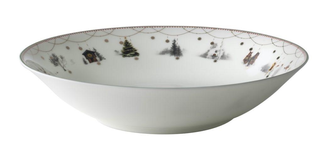 Tafelservice Weihnachten, Wik & Walsøe, Porzellan aus Norwegen