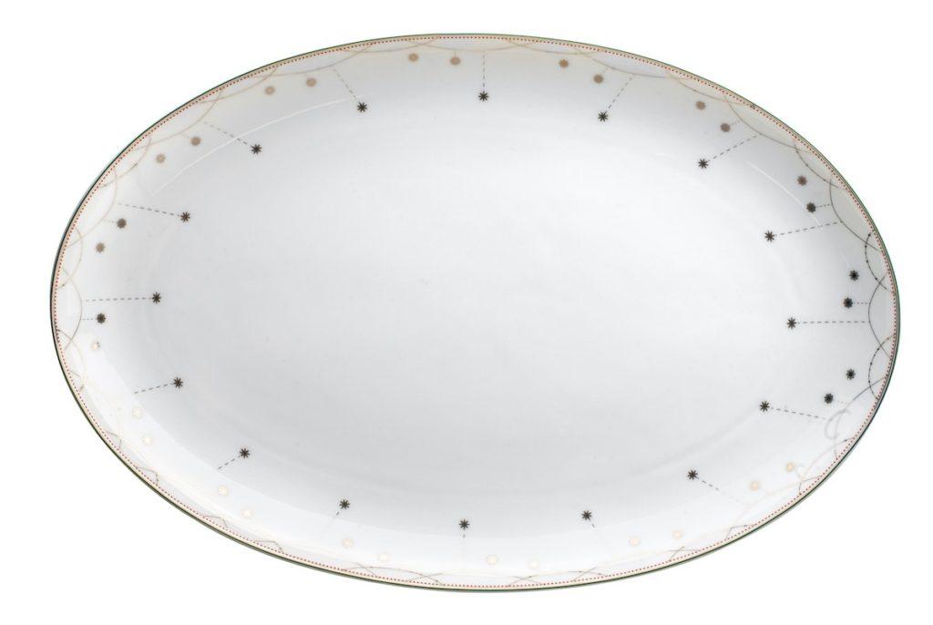 Weihnachtsgeschirr, Wik & Walsøe, Porzellan aus Norwegen