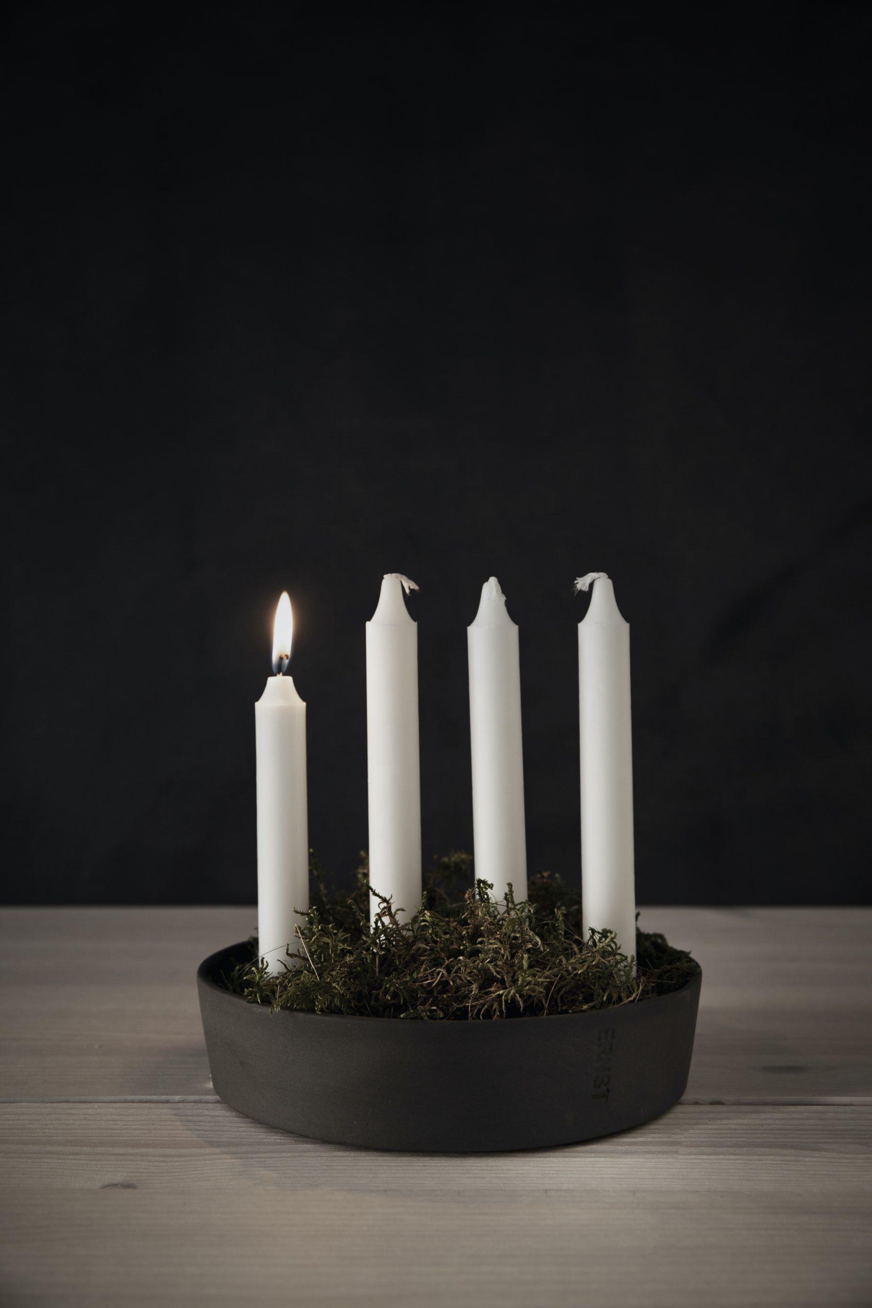 Adventskranz skandinavisch, Minimalistisch, Skandinavische Weihnachtsdeko, Dekoration, Weihnachten