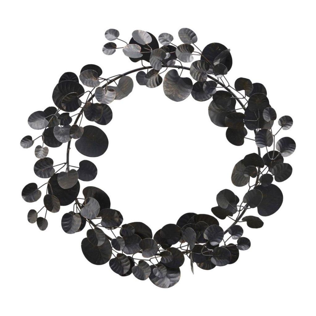 Weihnachtsdeko schwarz, Skandinavische Weihnachtsdeko , Eukalyptus künstlich