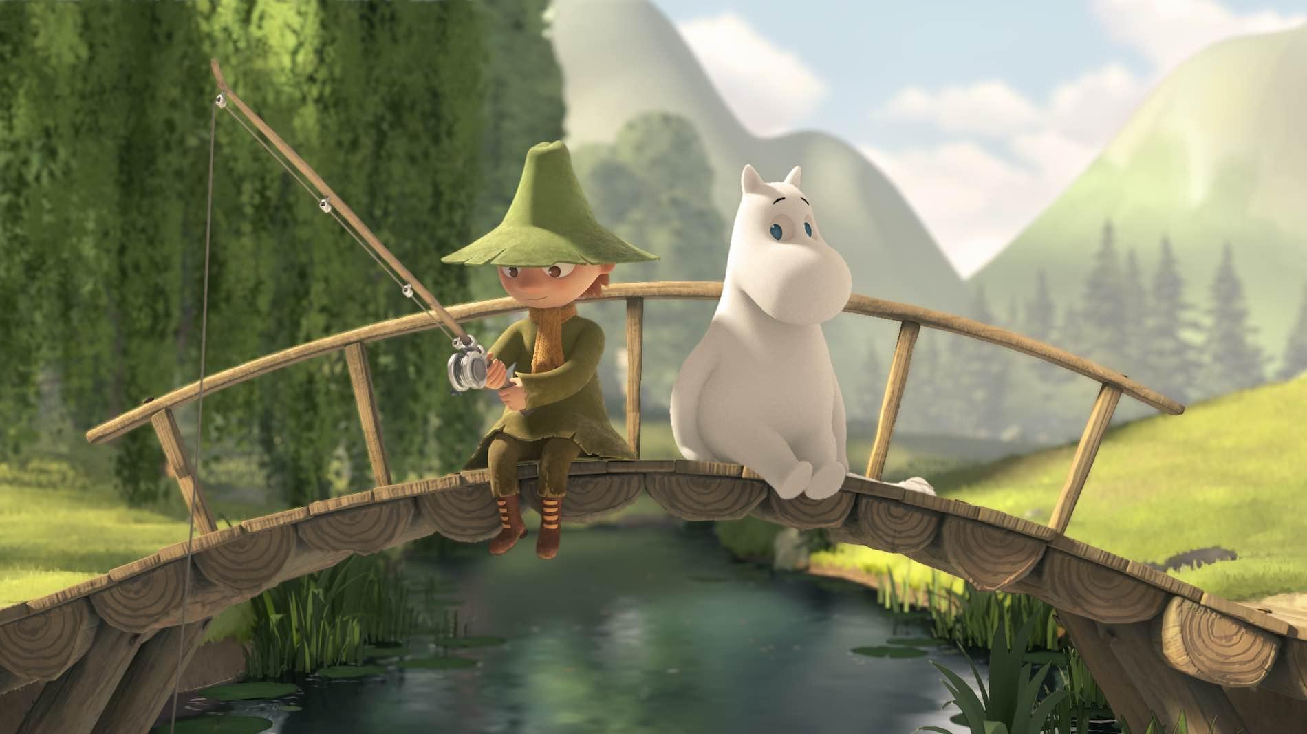 Mumins Serie, Moomin, ZDF, Kika, TV, Moominvalley, Zeichentrickserie, Animiert