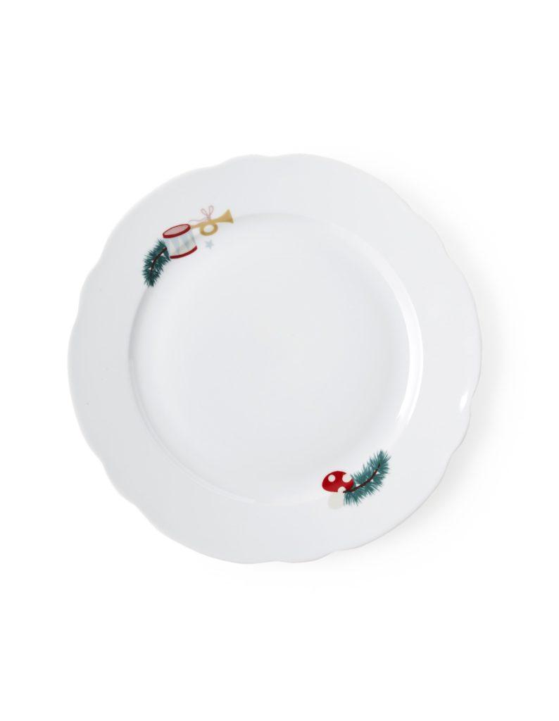 Teller zu Weihnachten