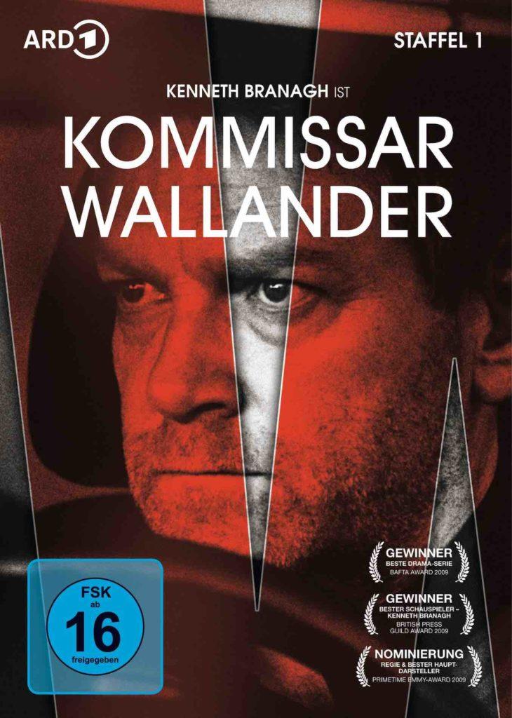 Henning Mankell Wallander Filme auf DVD, Skandi Filme, Kurt Wallander DVD
