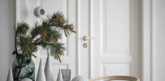 Weihnachtsdeko in Grün, Skandinavisch Wohnen